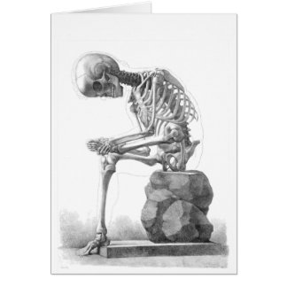 Cartes Squelette se reposant