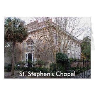 Cartes ss2, la chapelle de St Stephen