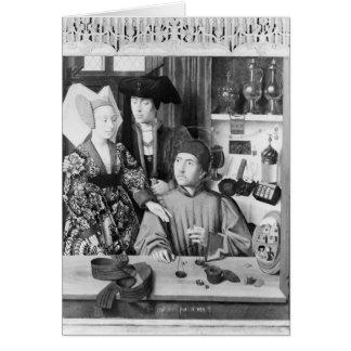 Cartes St Eligius en tant qu'orfèvre