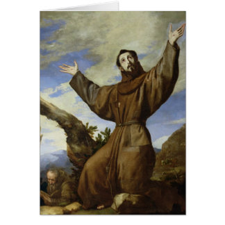 Cartes St Francis d'Assisi 1642