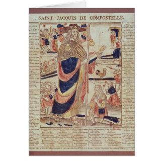 Cartes St James de Compostela, c.1824