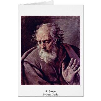 Cartes St Joseph par Reni Guido