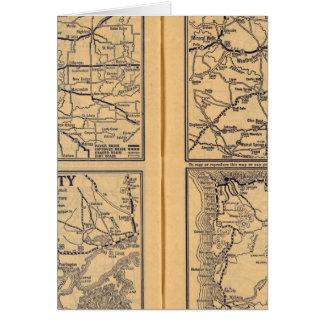 Cartes St Louis, la Nouvelle-Orléans, Dallas Fort Worth,