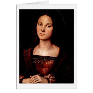Cartes St Mary Magdalene par Pietro Perugino
