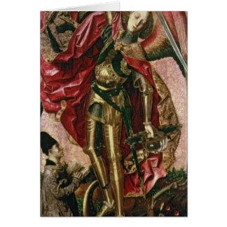 Cartes St Michael et le dragon