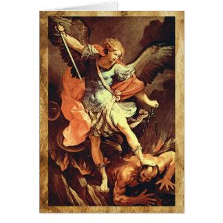 Cartes St Michael la prière d'Arkhangel