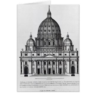 Cartes St Peter, Rome, gravé par C. Campbell