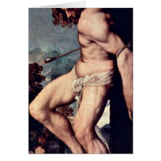 Cartes St SebastiAn par Titian