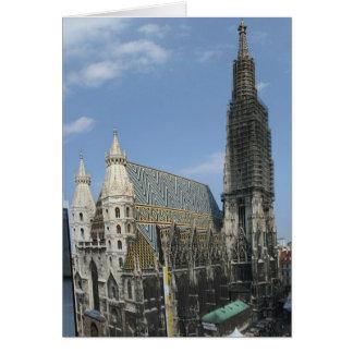Cartes St Stephan de Domkirche de la cathédrale de St