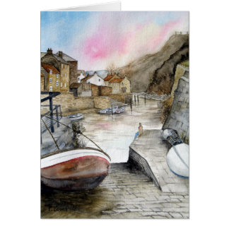 Cartes Staithes, North Yorkshire, Angleterre