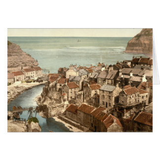 Cartes Staithes, Yorkshire, Angleterre