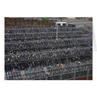 Cartes Stationnement de bicyclette, Hollande