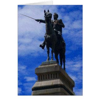 Cartes statue bolivienne