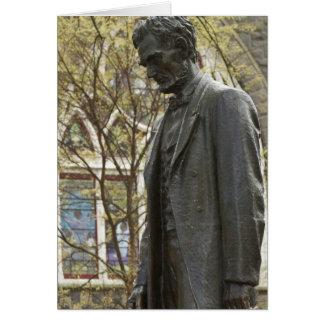 Cartes Statue d'Abraham Lincoln, Portland, Orégon