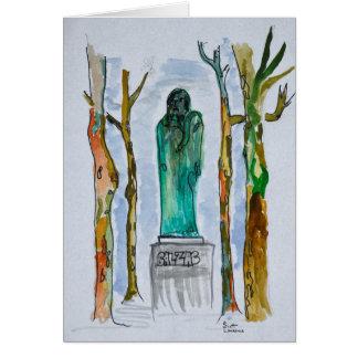 Cartes Statue de Balzac par Rodin   Paris, France