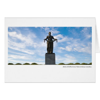 Cartes Statue de la mère patrie, cimetière de
