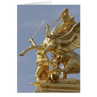 Cartes Statue de Pegasus au pont de Pont Alexandre III