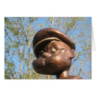 Cartes Statue de Popeye à Chester, l'Illinois