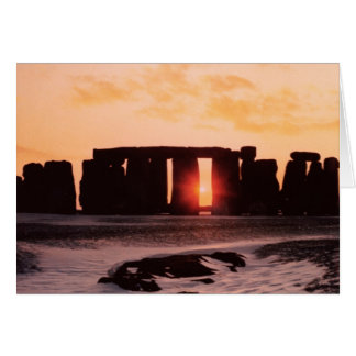 Cartes Stonehenge, solstice d'hiver