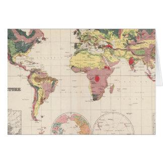 Cartes Structure géologique de globe