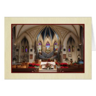 Cartes Sts. Peter et beau Noël de sanctuaire de Paul