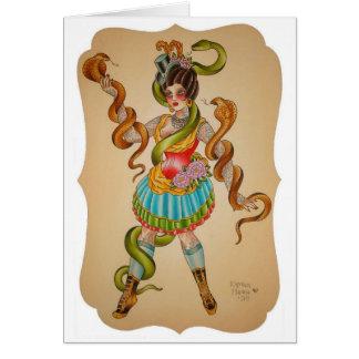 Cartes Style de cobra