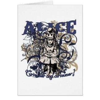 Cartes Style de la Reine Alice Carnivale