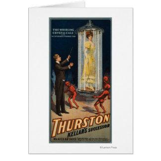 Cartes Successeur de Thurston Kellar - femme dans l'eau