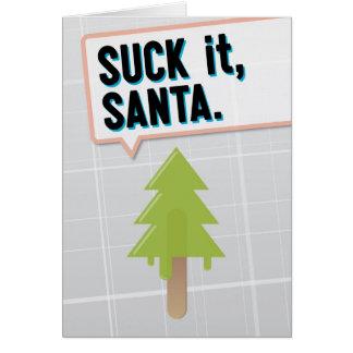Cartes Sucez-le, Père Noël