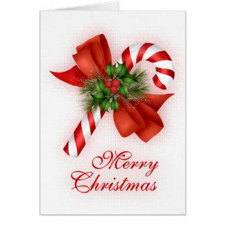 Cartes Sucre de canne de Noël