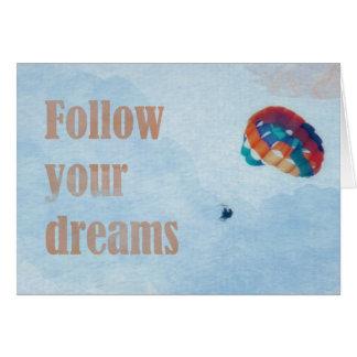 Cartes Suivez vos rêves