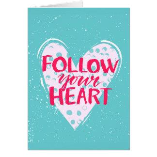 Cartes Suivez votre coeur 2