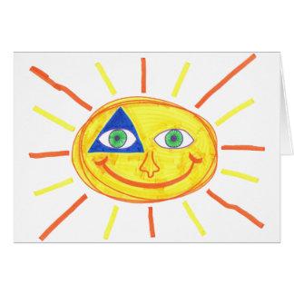 Cartes Sun mignon