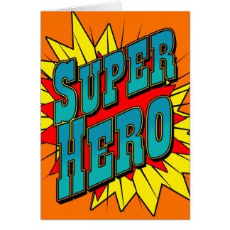 Cartes Super héros