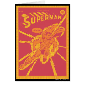 Cartes Superman est frappé par l'éclairage
