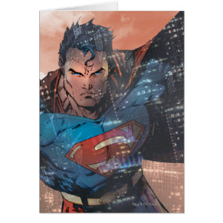 Cartes Superman - rouge