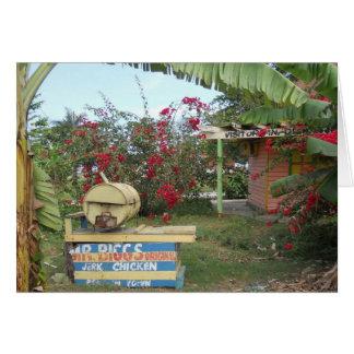 Cartes Support de poulet de secousse dans Negril,