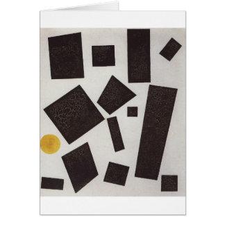 Cartes Suprematism par Kazimir Malevich