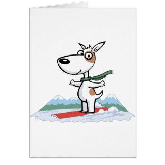 Cartes Surfeur de chien