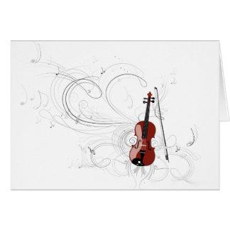 Cartes Symphonie de violon