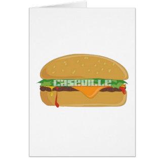Cartes T-shirts de festival de cheeseburger de Caseville
