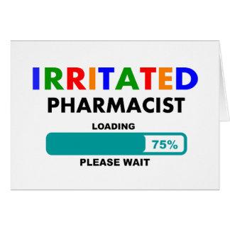 Cartes T-shirts drôle de chargement de pharmacien