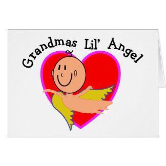 Cartes T-shirts et cadeaux d'ange de Lil de grand-mamans