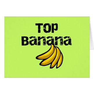 Cartes T-shirts et cadeaux de banane supérieure