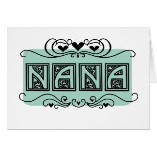 Cartes T-shirts et cadeaux de Nana de plaque signalétique