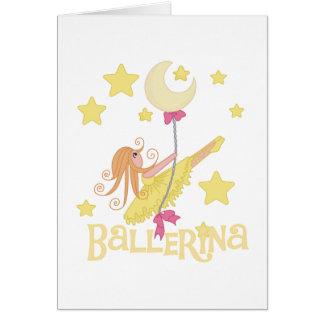Cartes T-shirts et cadeaux de oscillation de ballerine