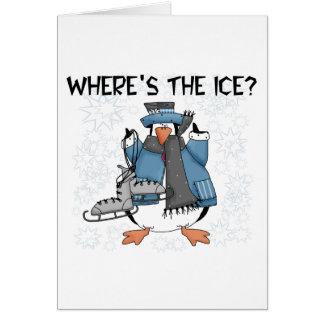 Cartes T-shirts et cadeaux de patinage de glace de