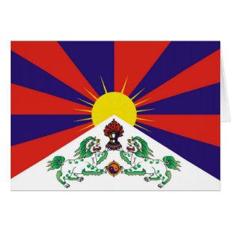 Cartes T-shirts et cadeaux tibétains de drapeau