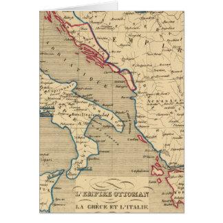 Cartes Tabouret de L'Empire, La Grece et l'Italie