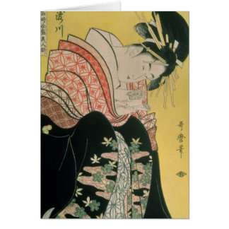 Cartes Takigawa du salon de thé, Ogi